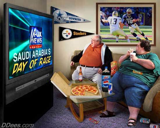 Fat TV Sheeple