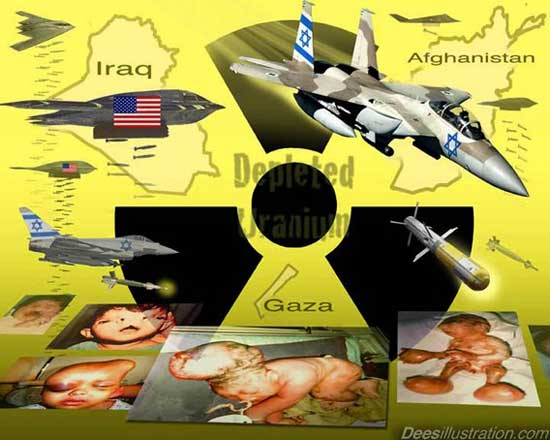 Slow Kill Depleted Uranium Ammunition