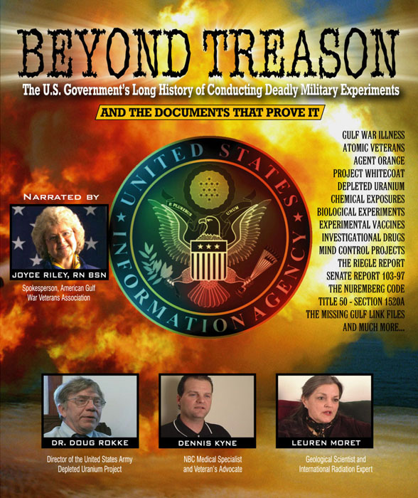 Beyond Treason - Depleted Uranium and Anthrax